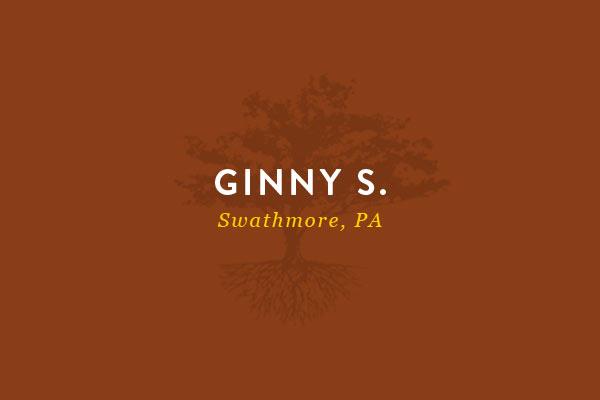 Ginny S Testimonial