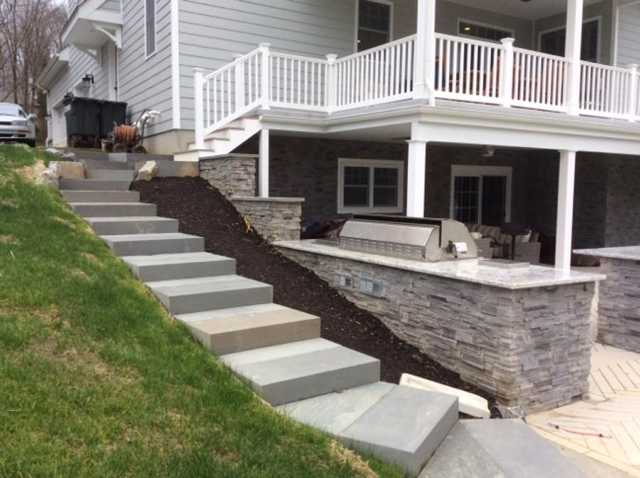 Media PA patio and outdoor kitchen designer