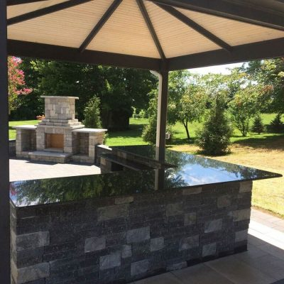 Hardscape Stone Patio
