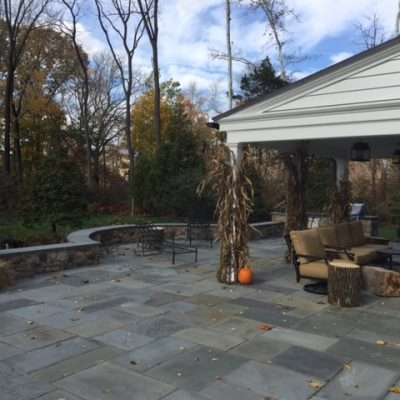 Large Outdoor Patio in Mainline PA