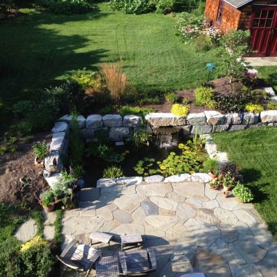 Hardscape Design Project in Garnet Valley, PA