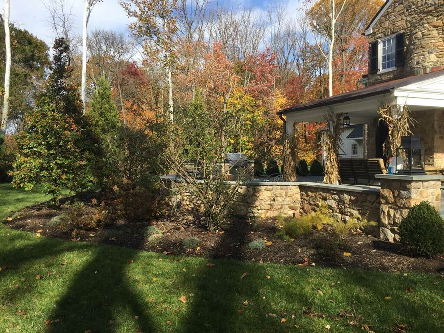 Landscape design and installation services in delaware valley for Landscape design and installation