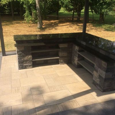 Hardscape Outdoor Kitchen Project