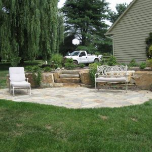 Backyard Hardscape and Landscape