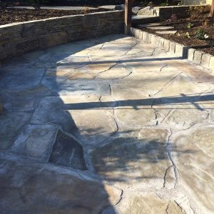 Custom Stone Patio