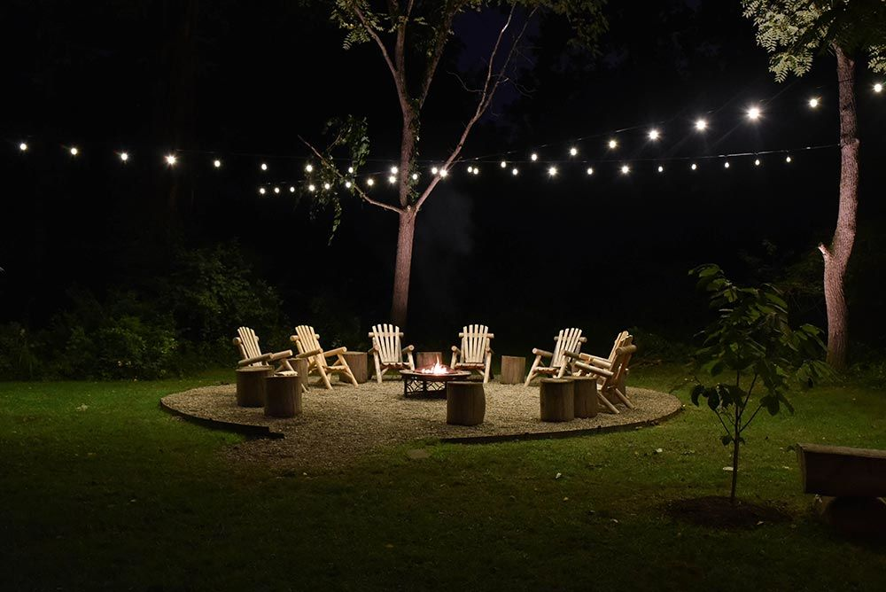 Outdoor String Landscape Lighting