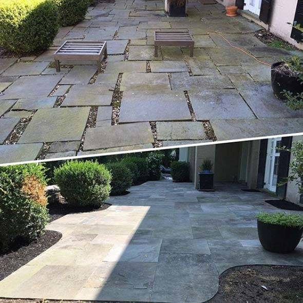 Custom Patio Hardscape