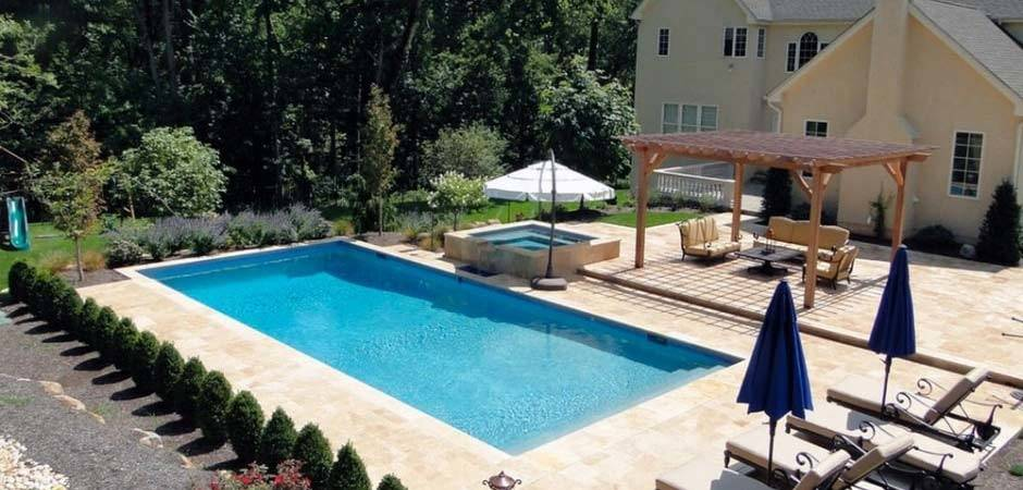 Pennsylvania Hardscaping Pool Project