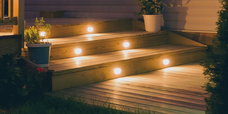 Outdoor Deck Lighting Stairs