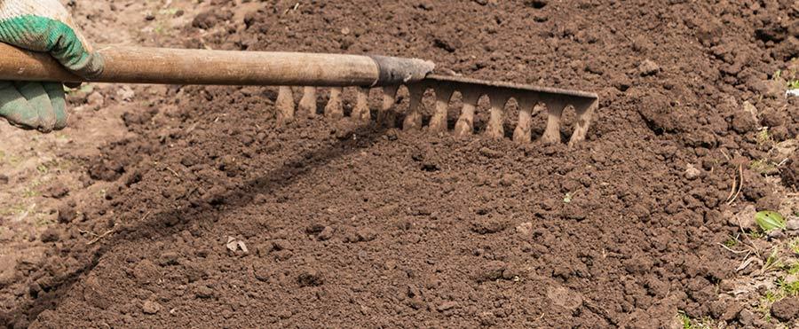 Fill Holes Drainage Yard Grading