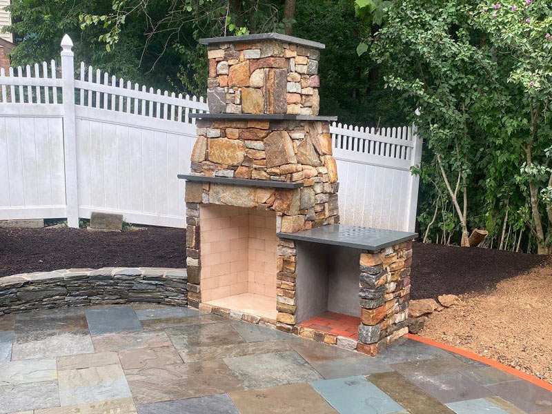 Outdoor Fireplace West Chester, PA